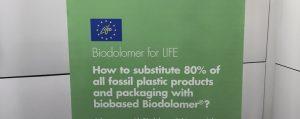 Substitute 80% of fossil-based plastics