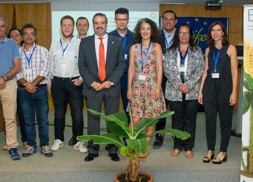 Konrad Rosén together with BAQUA projectmembers