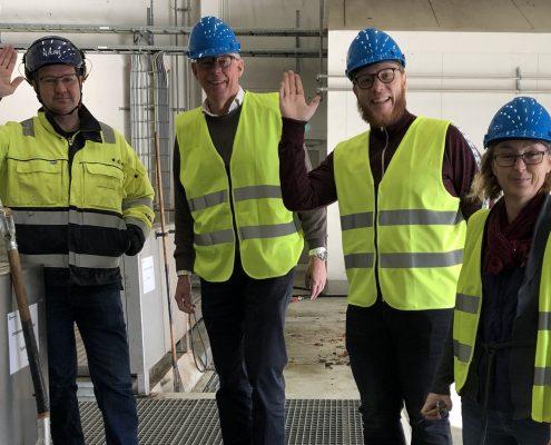 Technical group visit Uppsala Biogas